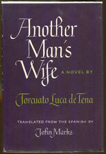 Another Man's Wife by Torcuato Luca de Tena-First American Edition/DJ-1965