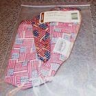 Longaberger Old Glory LITTLE BOARDWALK Basket Liner ~ Made in USA ~ New in Bag!