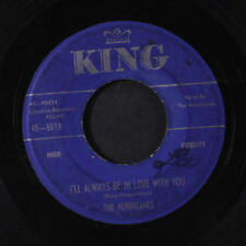 HURRICANES: Fallen Angel / I'll Always Be In Love With You 45 Vocal Groups