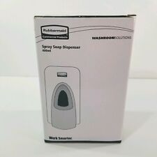 Rubbermaid Spray Soap Dispenser 400ml Washroom Solutions Work Smarter New