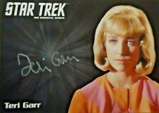 Star Trek TOS Archives & Inscriptions -Teri Garr Silver Autograph AB EXCLUSIVE