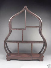 Collectible Decorated Old Handwork Wood Carved Big Stands For snuff Bottle