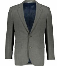 CHESTER BY CHESTER BARRIE Grey Wool Blazer Jacket 46 REGULAR
