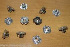 12 Stück Einschlagmutter M 8 x 11 mm Gewindebuchse Einschlaggewinde für Holz