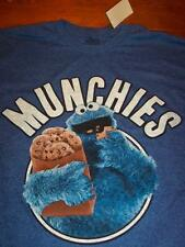 Sesame Street COOKIE MONSTER MUNCHIES T-Shirt XL NEW w/ tag