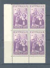 AUSTRALIA PREDECIMAL 1955 NURSING BLOCK VERY FINE MNH    122