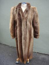 Women's Fur Coat (Martin/Nutria?) - Size Medium