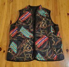 Ralph Lauren Polo Equestrian Reversible Bridle Vest...2xl...nice!
