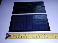 6V x 330 mA Mini Solar Panel epoxy encapsulated virtually indestructible