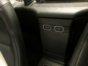 D BMW Z3 Chrom Rahmen für Schalter Ablage hinten - Edelstahl poliert 2 Teile