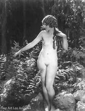 Albert Arthur Allen Photo, Female Figure in woods, 1920s
