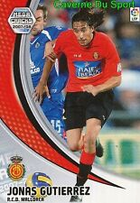 193 JONAS GUTIERREZ ARGENTINA RCD.MALLORCA TARJETA CARD MGK LIGA 2008 PANINI