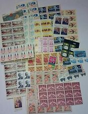Unused 100 Assorted Mixed, Multiples & Singles of 10¢ US Postage Stamps FV $10.0