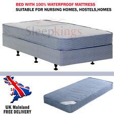 Waterproof Single 3ft Divan Bed With Waterproof Mattress Delivery