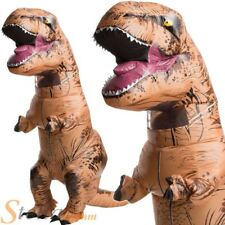 Adult Inflatable T-Rex Dinosaur Costume Blow Up Mens Ladies Fancy Dress Outfit