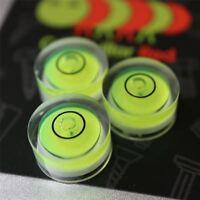 3 x Dosenlibelle, Winzig kleine Wasserwaage mit Luftblase, BullsEye, kreisförmig