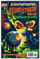 MARS ATTACKS #1, VF/NM, UFO, Aliens, Horror, Ken Steacy, 1995, more MA in store
