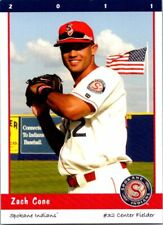 2011 Grandstand Spokane Indians Minor League Baseball - Pick Choose Your Cards