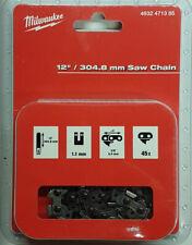 """Milwaukee Chaîne de Scie 3/8 """" - 304,8 cm pour Batterie Tronçonneuse M18"""