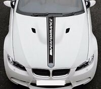 For BMW 3 E92 M Performance Sport Hood Stripe VINYL STICKER Bonne DECAL Graphics