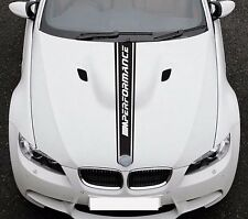 Per BMW 3 E92 M Performance Sport Cappuccio a Righe in Vinile Adesivo JDM Decalcomania Grafica
