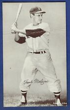 1947-66 Exhibits Frank Malzone Boston Red Sox Blank Back VG