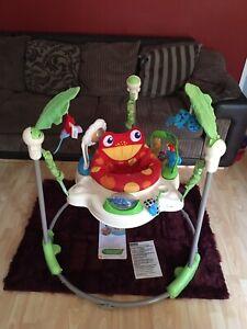Fisher Price Rainforest Jumperoo Jumparoo K7198 Baby Bouncer Activity Toy