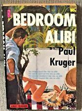 Paul Kruger / BEDROOM ALIBI 1961