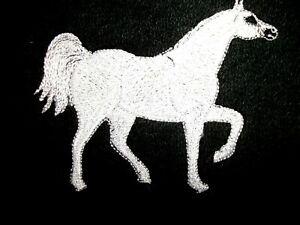 ARABIAN HORSE DESIGN, EMBROIDERED HAND TOWEL
