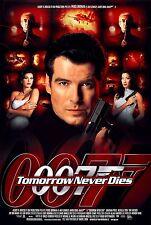 TOMORROW NEVER DIES (1997) ORIGINAL MOVIE POSTER  -  ROLLED