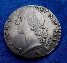 MONNAIE ANCIENNE UN ECU  LOUIS XV 1769 I LIMOGES EN ARGENT A VOIR!!!
