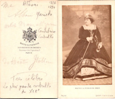 Mayer & Pierson, Paris, Opéra, La cantatrice contralto Marietta Alboni Vintage C