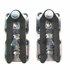 2Pcs Sofa Sectional Furniture Connector Joint Snap Alligator Clip