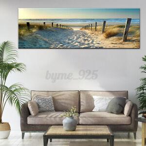Canvas Print Wall Art Ocean Beach Nature Hanger Landscape Picture For Decor AU