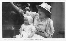 POSTCARD  ACTRESSES   RUTH  VINCENT  &  Baby  Budge