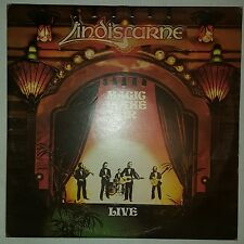 LINDISFARNE - MAGIC IN THE AIR LIVE Double LP EX.COND