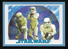 2017 Topps Star Wars 1978 Sugar Free Wrappers STORMTROPPERS Blue #68/75