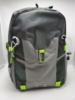 New Backpack Black Gray Green Multi Pocket Luggage Carry On Bag Gym Sports
