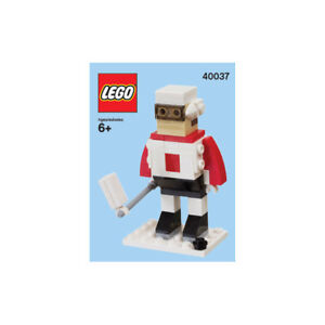 NEW LEGO 40037 Monthly Mini Lego Build Feb 2012 HOCKEY PLAYER with Instructions