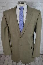 Mens Brown 2 Button Classic Fit BIG TALL Sport Coat Blazer Jacket SIZE 48L