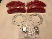 MGP Disc Brake Caliper Covers 2011 Ford F-150 SVT Raptor/Lariat in RED