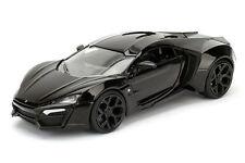 1:24 SCALE BLACK LYKAN HYPERSPORT DIECAST MODEL CAR BY JADA 98074
