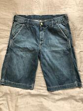 Carhartt Work Bermuda W 32 Jeans Shorts Bermudashorts kurze Hose Arbeitsshorts