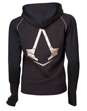 Assassins Creed Hoodie Crest Logo Größe XL Damen Kapuzenpullover Female Sweater