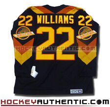best sneakers d4761 2d192 22 tiger williams jersey ebay