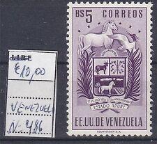 VENEZUELA   ;  MNH ** NUOVO - NEW  ;  YVERT n. 486;   BS 5 correos ; A58