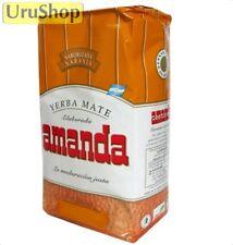 Y80 Yerba Mate Amanda Naranja (Orange) 500g Con Tallos