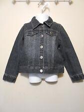 Arizona Jean Co Toddler Girls Denim Jean Jacket Tinted Wash 4T NWT