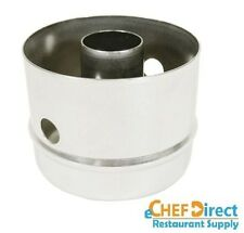 "3"" x 2-1/2"" Stainless Steel Doughnut Cutter with Hole"