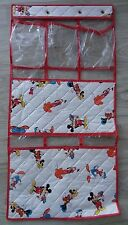 Walt Disney Company vintage baby organizer shoes diapers layette quilted plastic